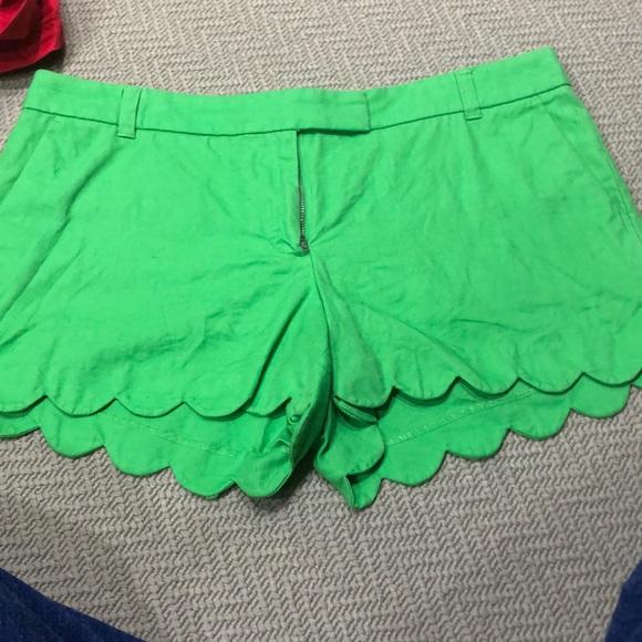J. Crew Pants - J crew women's scallop shorts